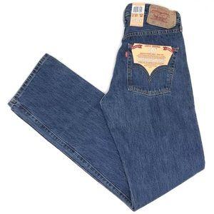 Levis 501 Button Fly Jeans NEW Men Size 31x34